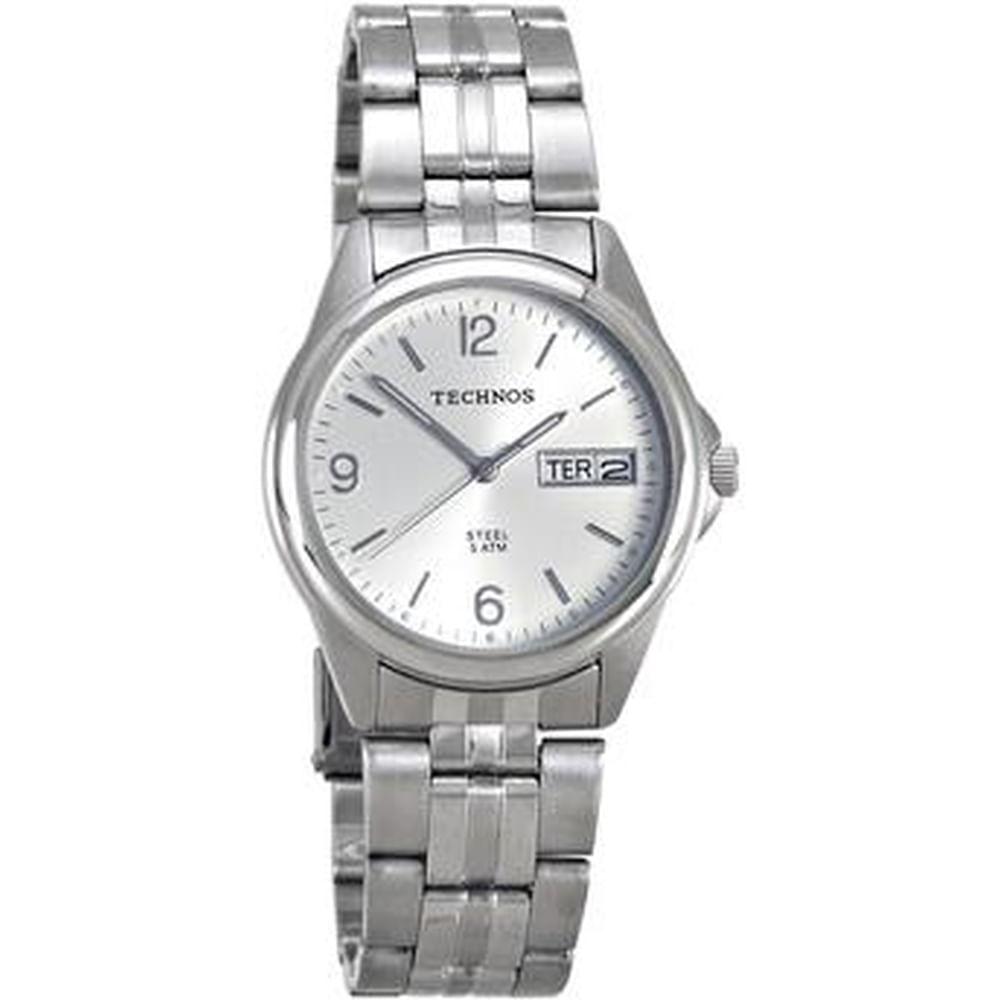Relógio Technos Classic Steel 1S02AG 1K - fluiartejoias 3854071dcc