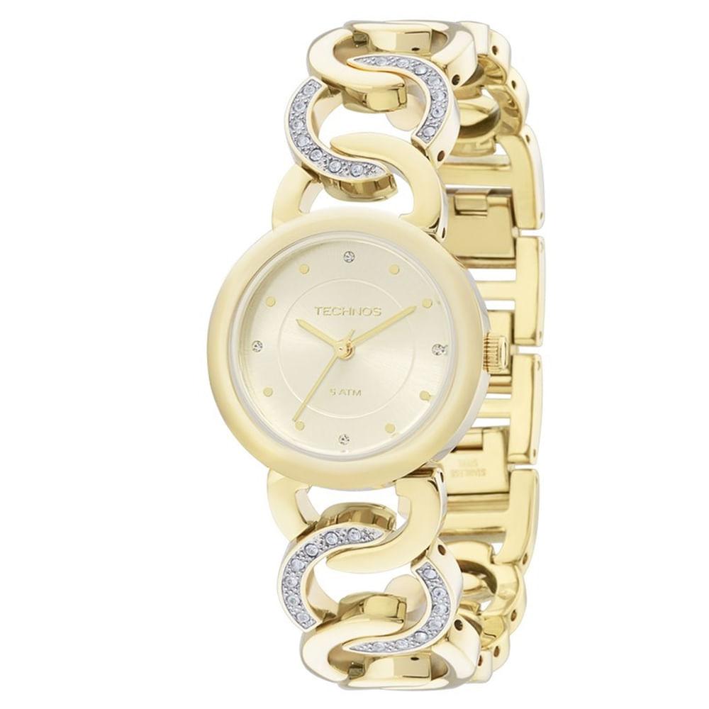 62019d62b8e68 Relógio Technos Feminino Elegance Elos 2035LWZ 4X - fluiartejoias