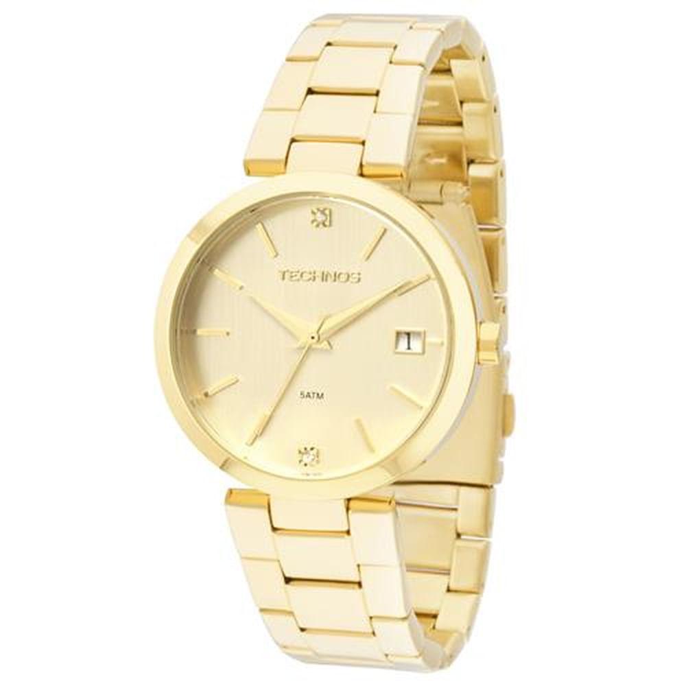 9f967cd3d59 Relógio Technos Feminino Analógico 2315ABR 4D. Cód  2315ABR 4D.  2315ABR4D-fluiarte-joias