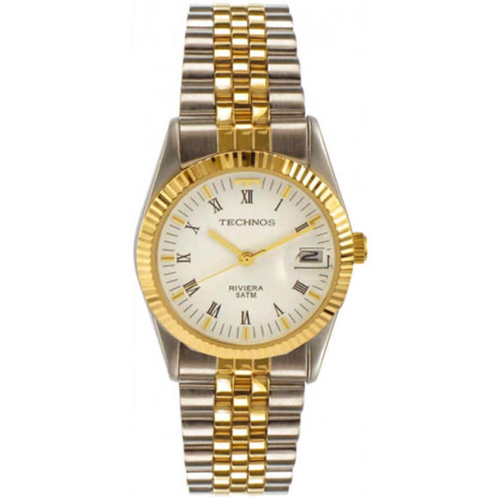 Relógio Technos Feminino Classic Riviera 1M10GX 1B. Cód  1M10GX 1B.  1M10GX1B-fluiarte-joias 3f1c2b3f16
