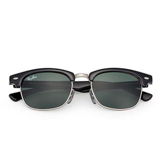 Capturar Óculos Solar Ray-Ban Clubmaster Junior RJ9050S 100 7145 ... ee7c87fe5e