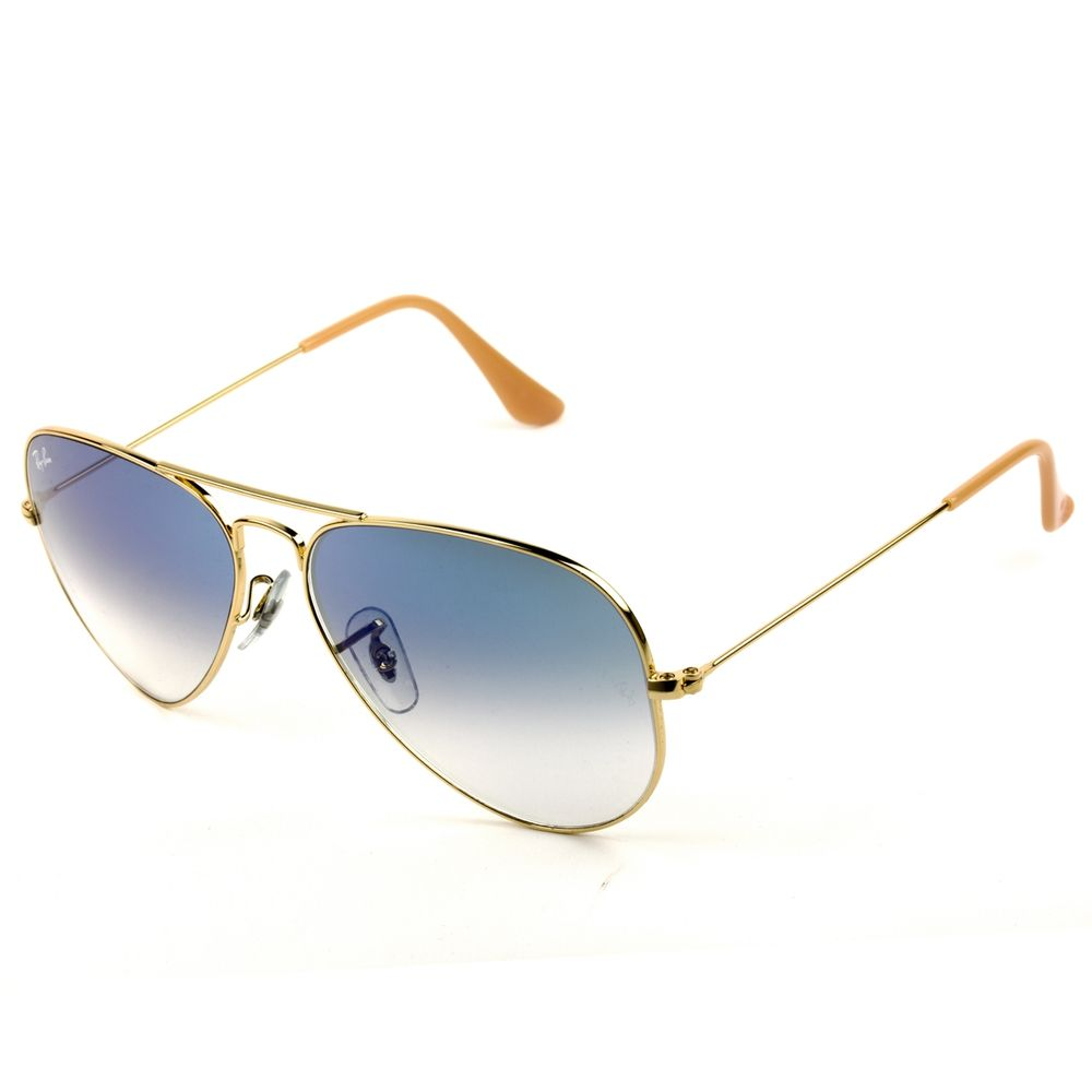 ae8a7429381c5 Óculos Solar Ray-Ban Aviador RB3025L 001 3F 58 - fluiartejoias